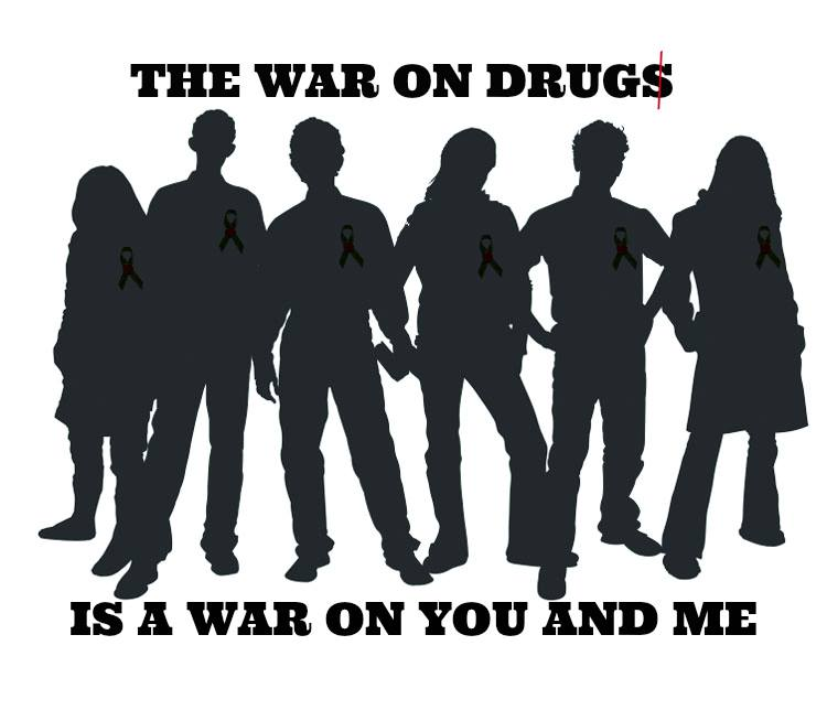 the wart on drugs is a war on you and me ths