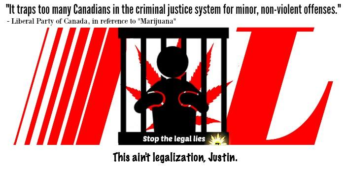 This ain't legalization, Justin