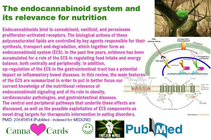 Site The endocannabinoid system and its relevance for nutrition.