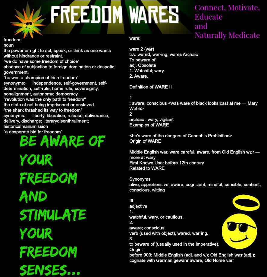 Be Aware Of Your Freedom