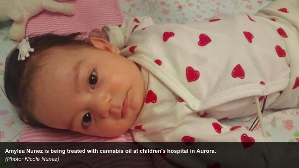 Amylea Nunez Epilepsy Cannabis oil