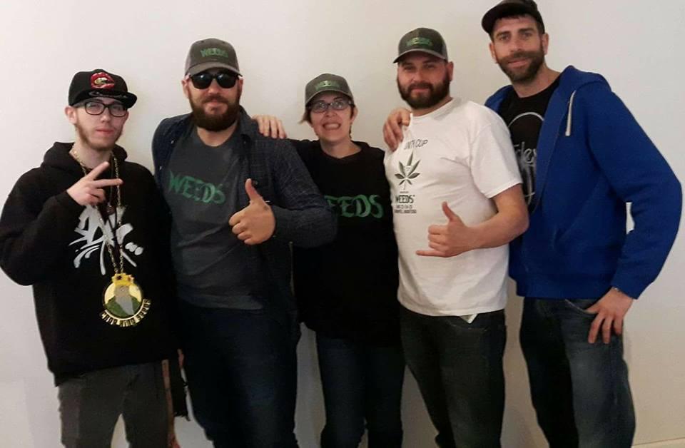 WEEDS crew
